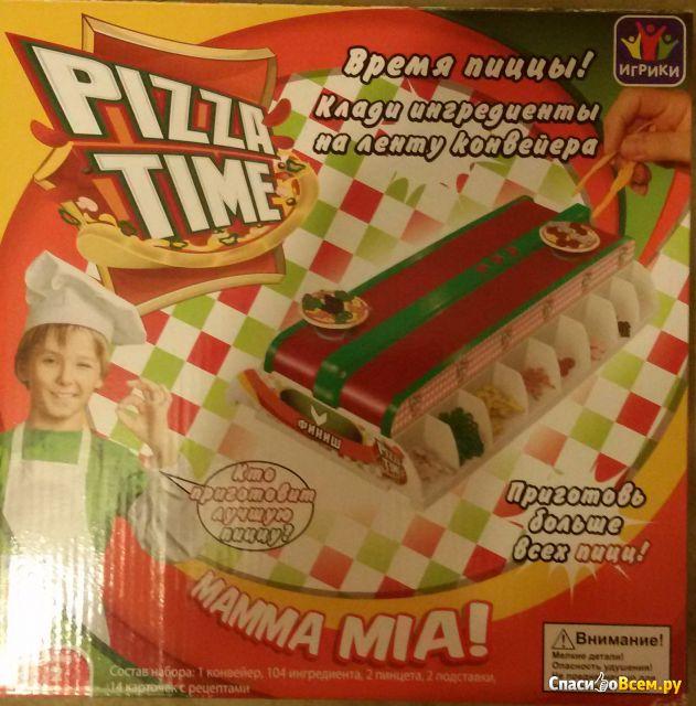 """Настольная интерактивная игра  """"Pizza Time"""" Fotorama, арт. 1026 фото"""