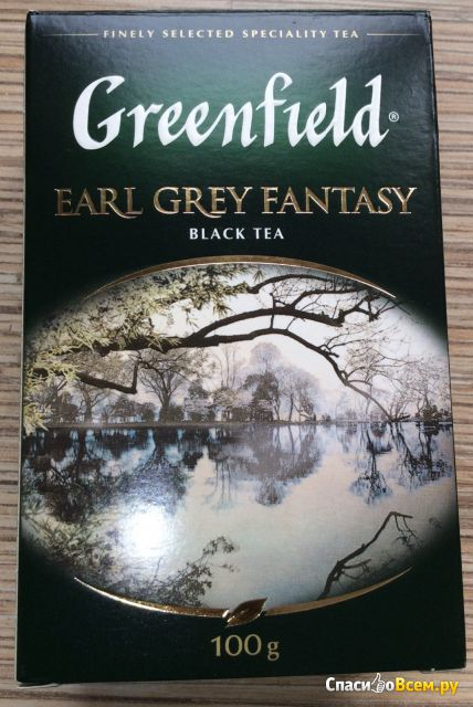 Чай черный Greenfield Earl Grey Fantasy фото