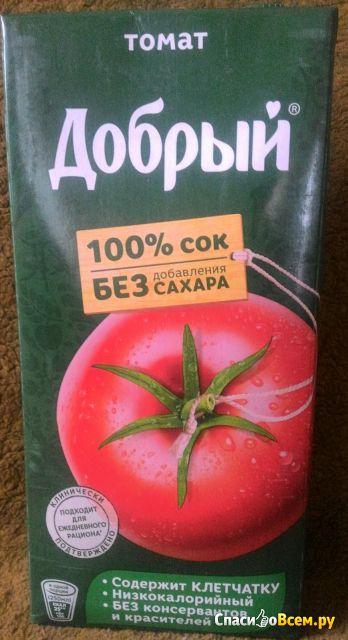 """Сок """"Добрый"""" томатный фото"""