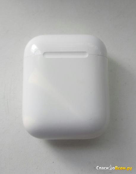 Беспроводные наушники Apple AirPods 2 (с беспроводным зарядным футляром) MRXJ2 фото