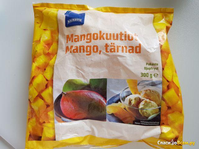 Кубики манго замороженные Rainbow фото
