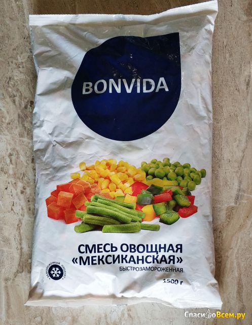 """Смесь овощная """"Мексиканская"""" быстрозамороженная Bonvida фото"""