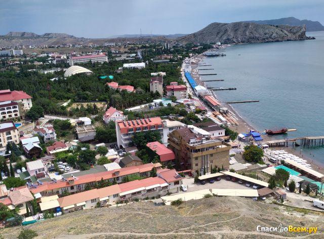 Город Судак (Крым) фото