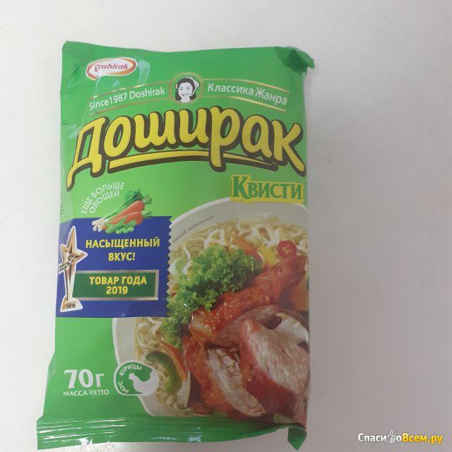 """Лапша быстрого приготовления """"Доширак"""" Квисти вкус курицы"""