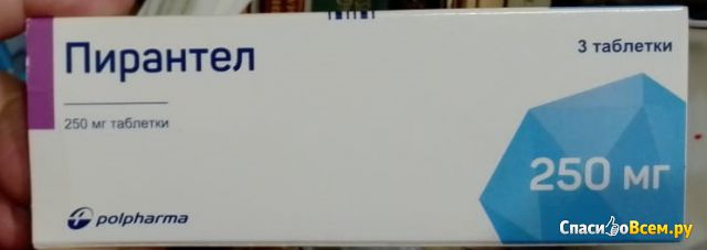"""Таблетки """"Пирантел"""""""