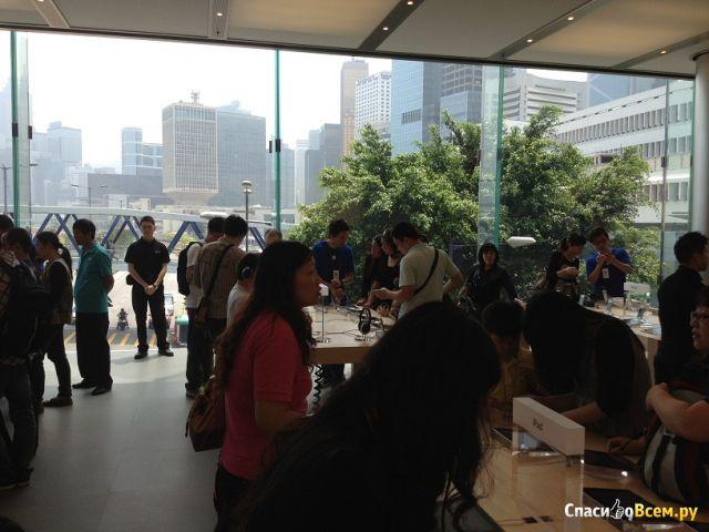 Магазин Apple в Гонконге фото