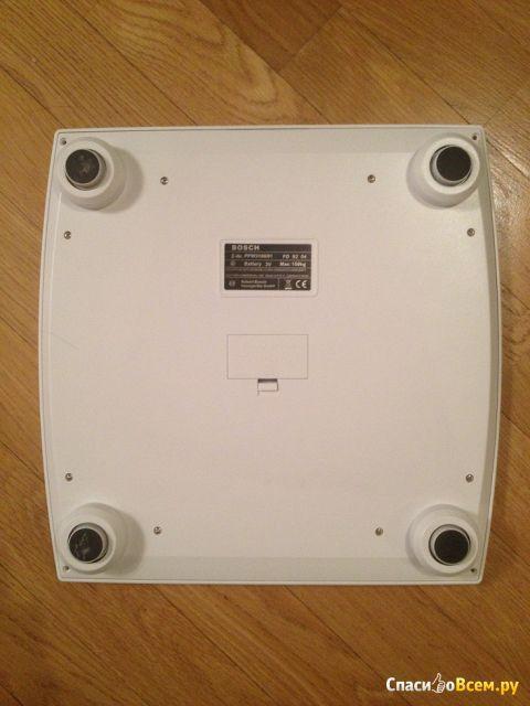 Напольные весы Bosch PPW3100