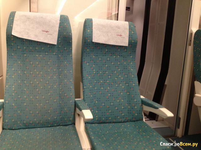 Поезд Euromed (Renfe) из Барселоны в Валенсию (Испания) фото