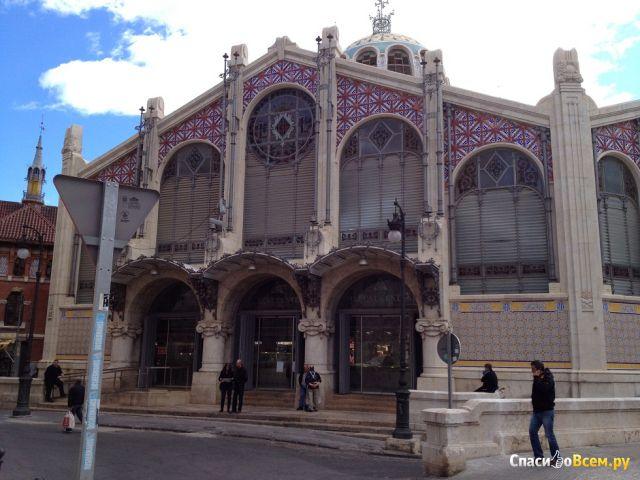 Рынок Mercat в Валенсии (Испания) фото