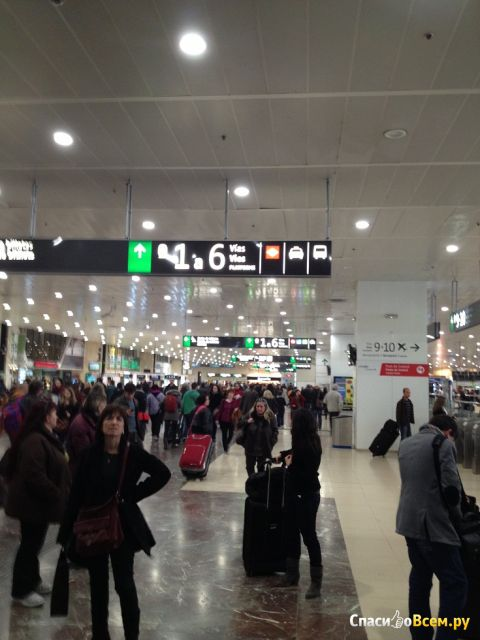 Вокзал Barcelona Sants (Испания) фото