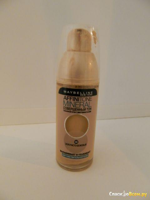 """Тональный крем Maybelline Affinitone Mineral """"Совершенный тон"""" фото"""