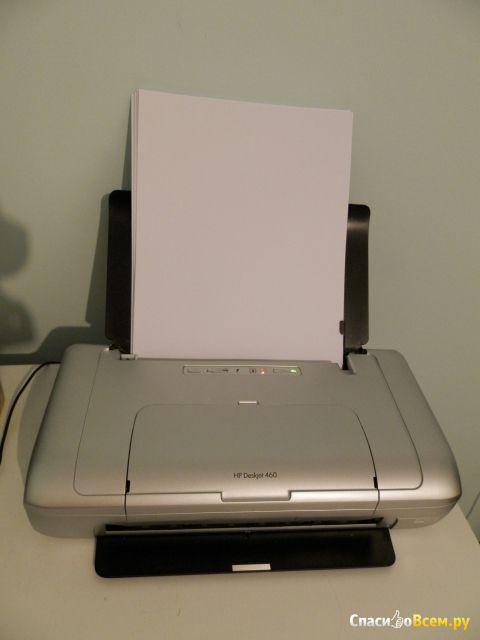 Струйный принтер HP Deskjet 460 фото