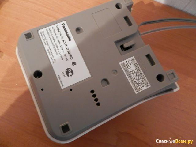 Радиотелефон Panasonic KX-TG7205RU фото