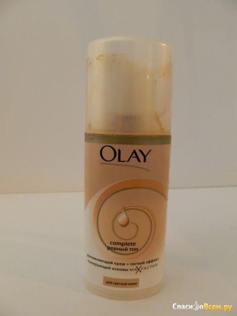"""Тональная основа """"Olay complete"""" ровный тон для светлой кожи фото"""