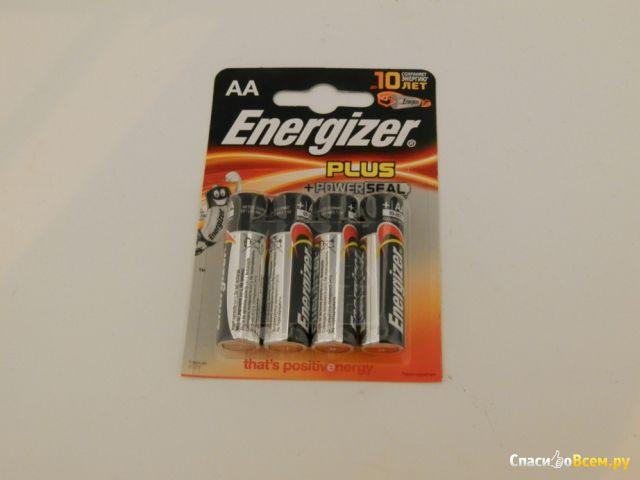 Литиевые батарейки Energizer AA plus power seal фото