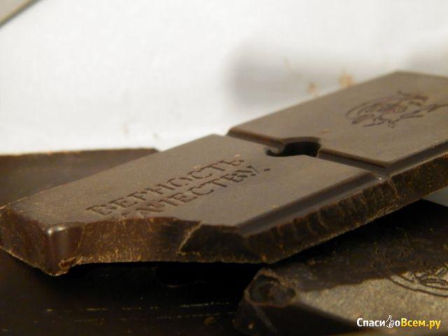 """Горький шоколад """"Верность качеству"""" Мята натуральная фото"""