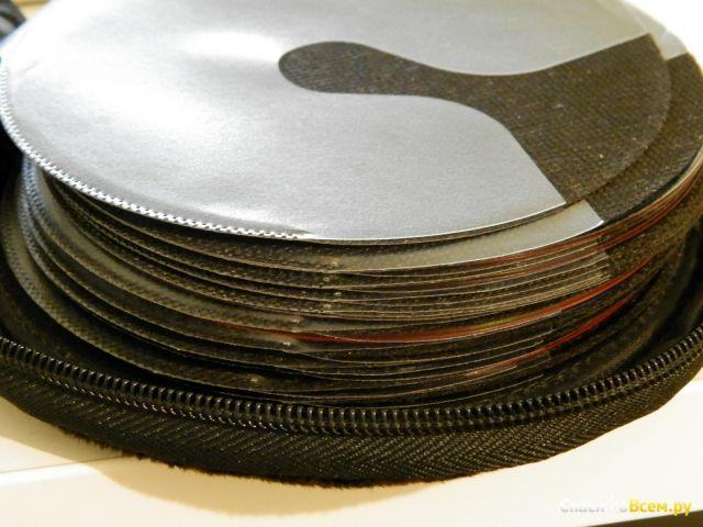 """Сумка """"Agva"""" CD20-FUR2 для 20 DVD/CD с дополнительным креплением на пояс"""