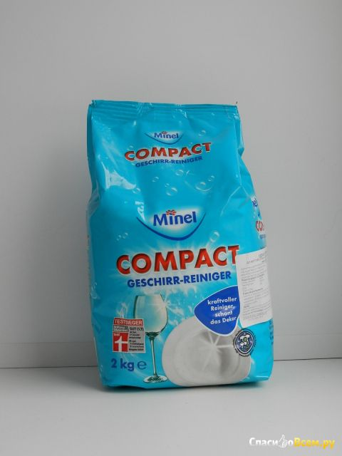"""Порошок для посудомоечной машины Minel """"Compact"""" фото"""