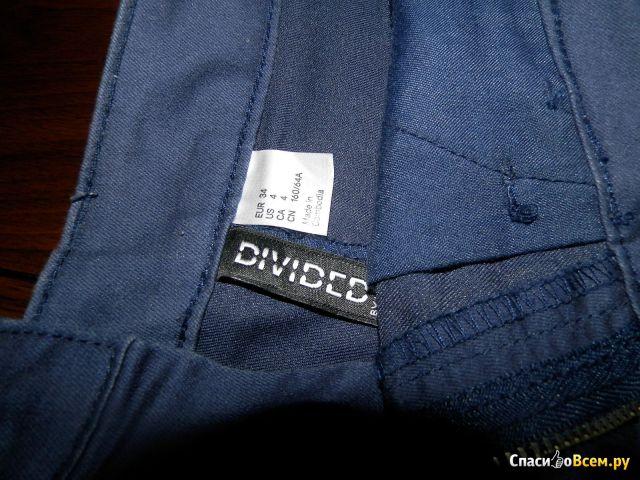 Женские шорты Divided - H&M, синие фото