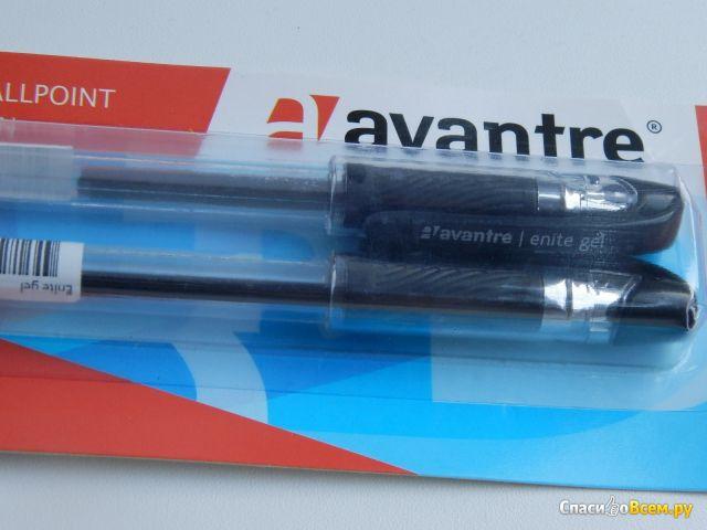 Гелевая ручка Avantre enite gel 0,5 мм, черная фото