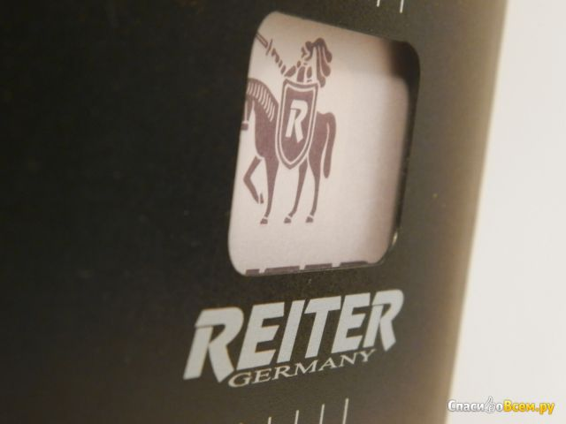 Тетрадь Reiter NB-02 на спирали, черная