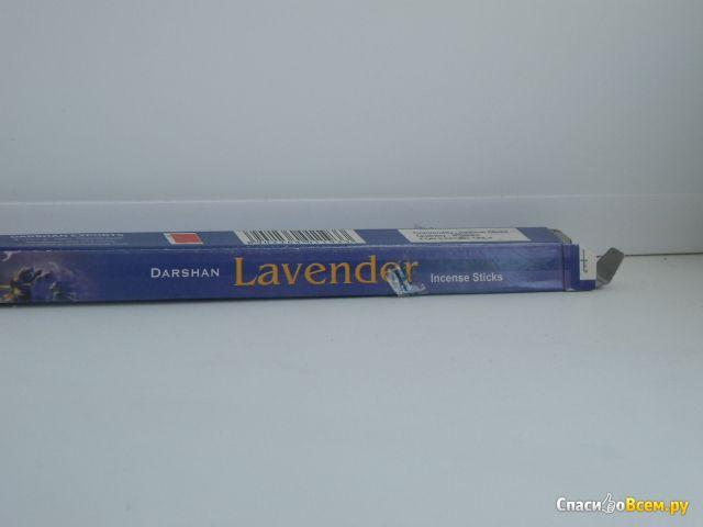Ароматические палочки Darshan Lavender фото