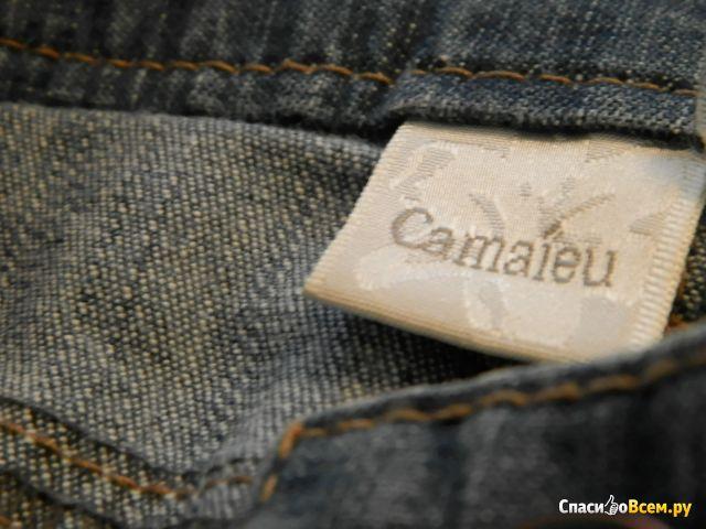 Женские шорты Camaieu, голубые фото