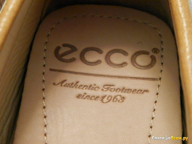 Женские мокасины Ecco Cuno Ladies, желтые фото
