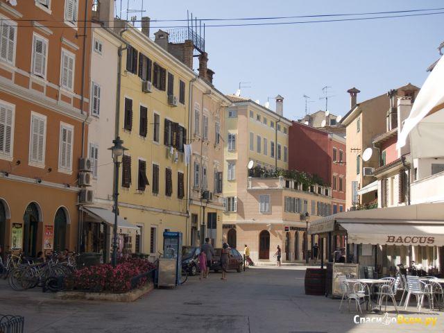 Город Ровинь (Хорватия) фото