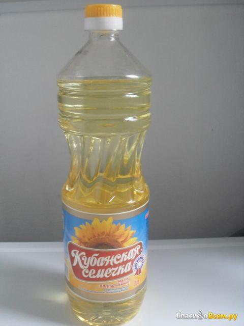 """Подсолнечное рафинированное масло """"Кубанская семечка"""""""