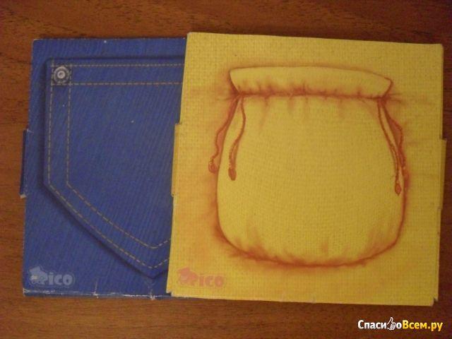 Игры в конвертах Rico «Цветные кармашки»