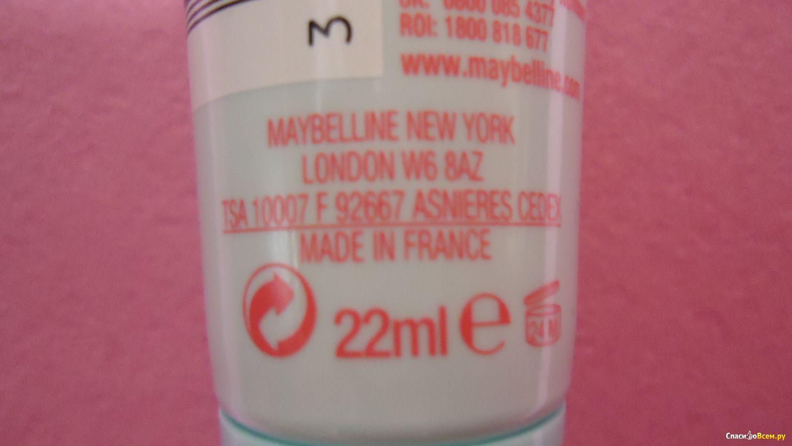 Maybelline основа под макияж baby