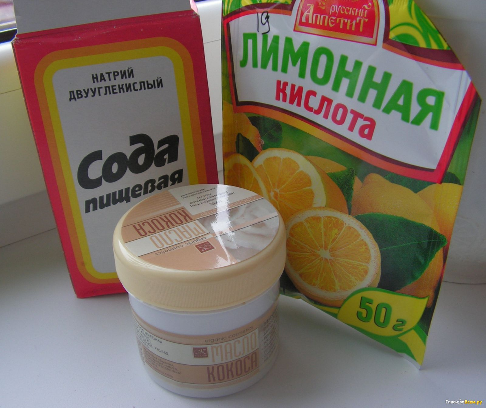 лимонная кислота плюс сода для рыбалки