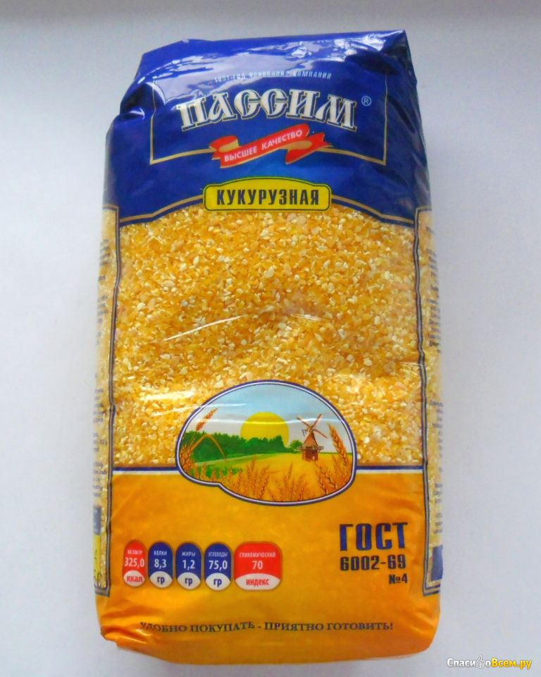 кукурузная крупа для прикормки