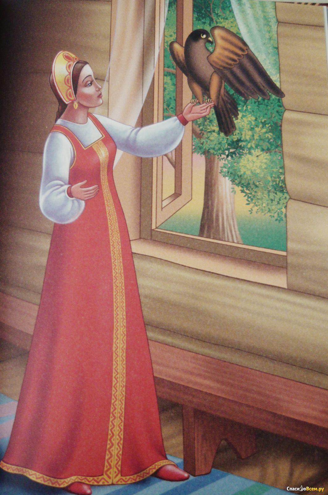 Картинки сказку финист ясный сокол