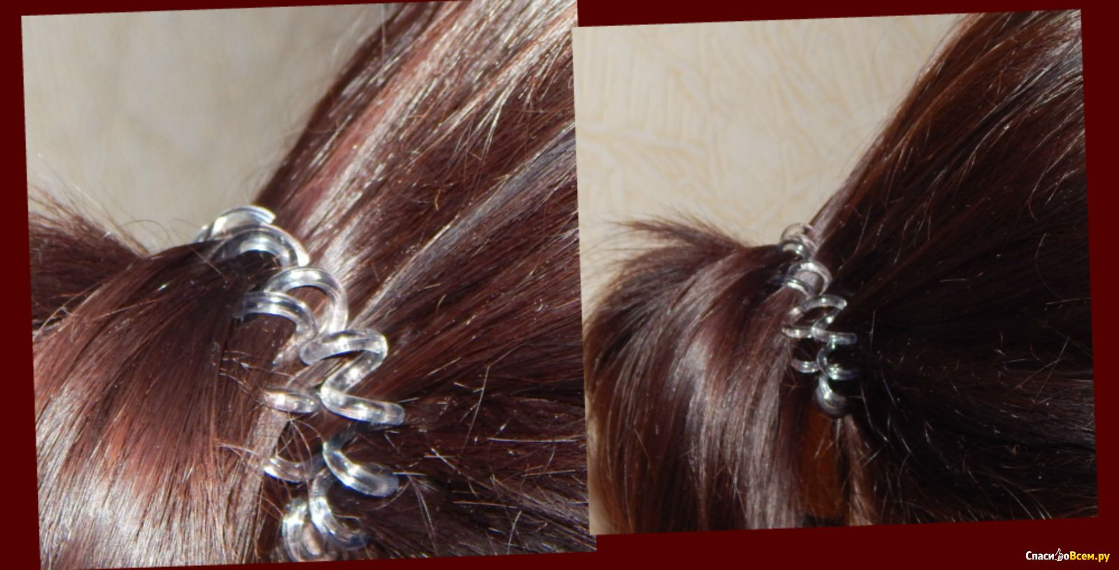 Волосы на резинке фото 179