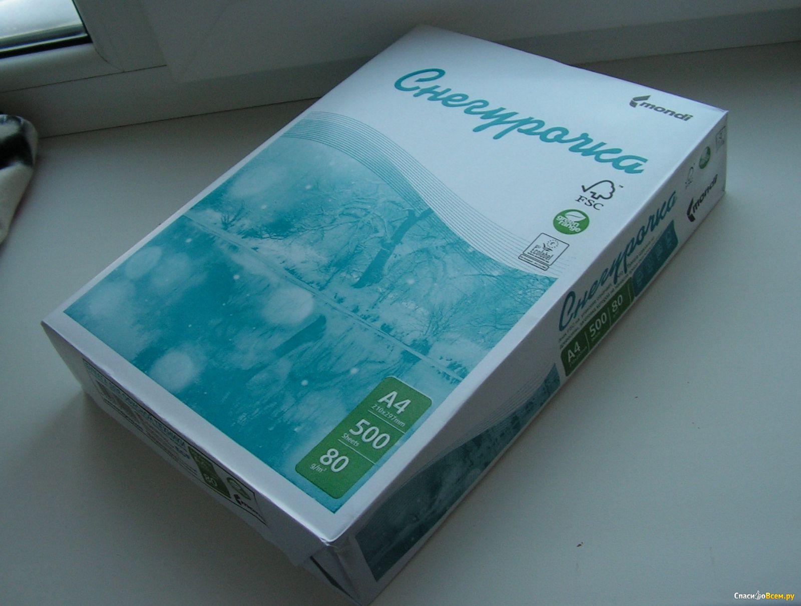 Бумага снегурочка а4 цена киров оптом