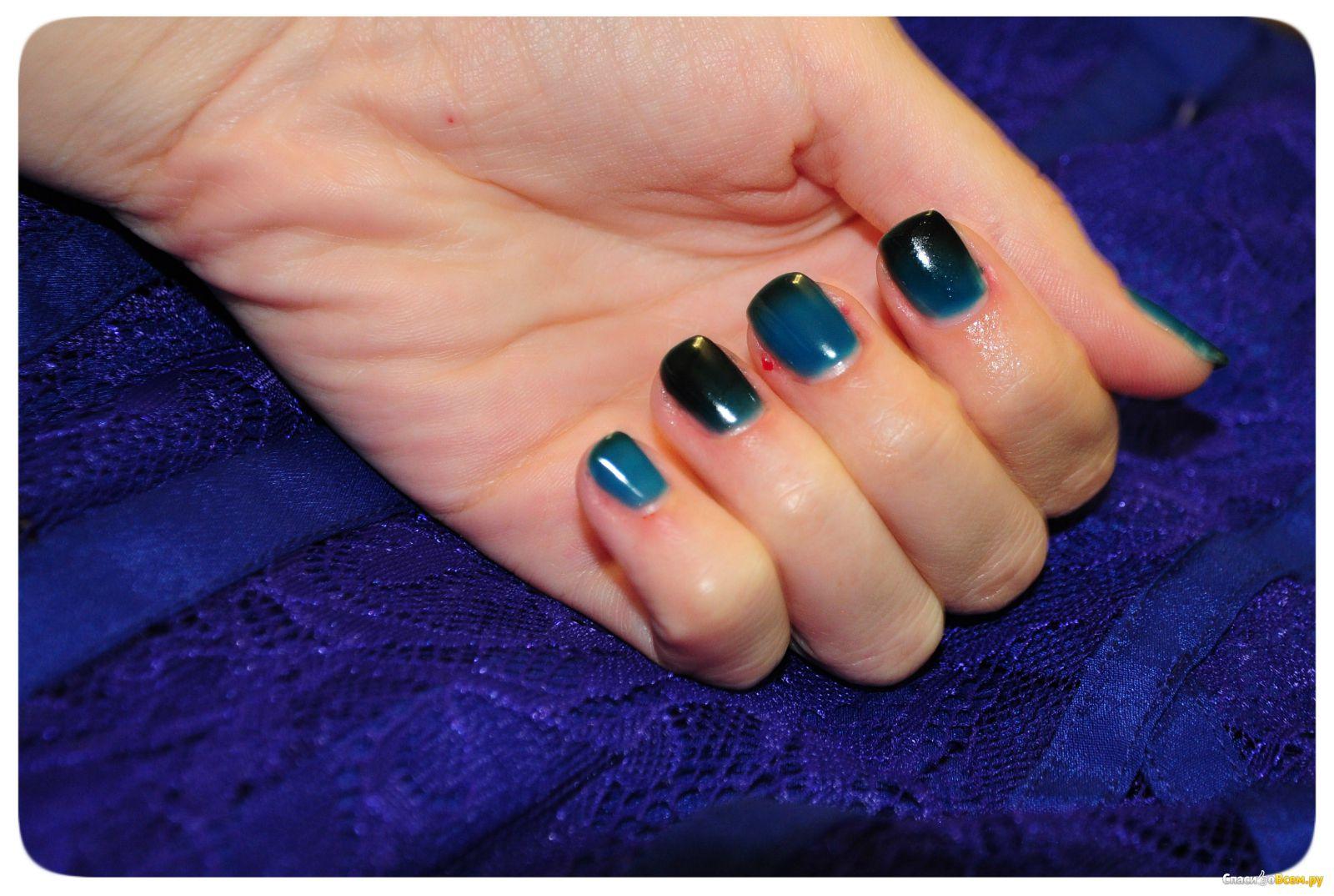 Фото термо гель лака для ногтей