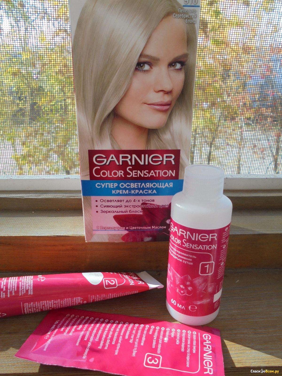 Тест гарнир цвет волос