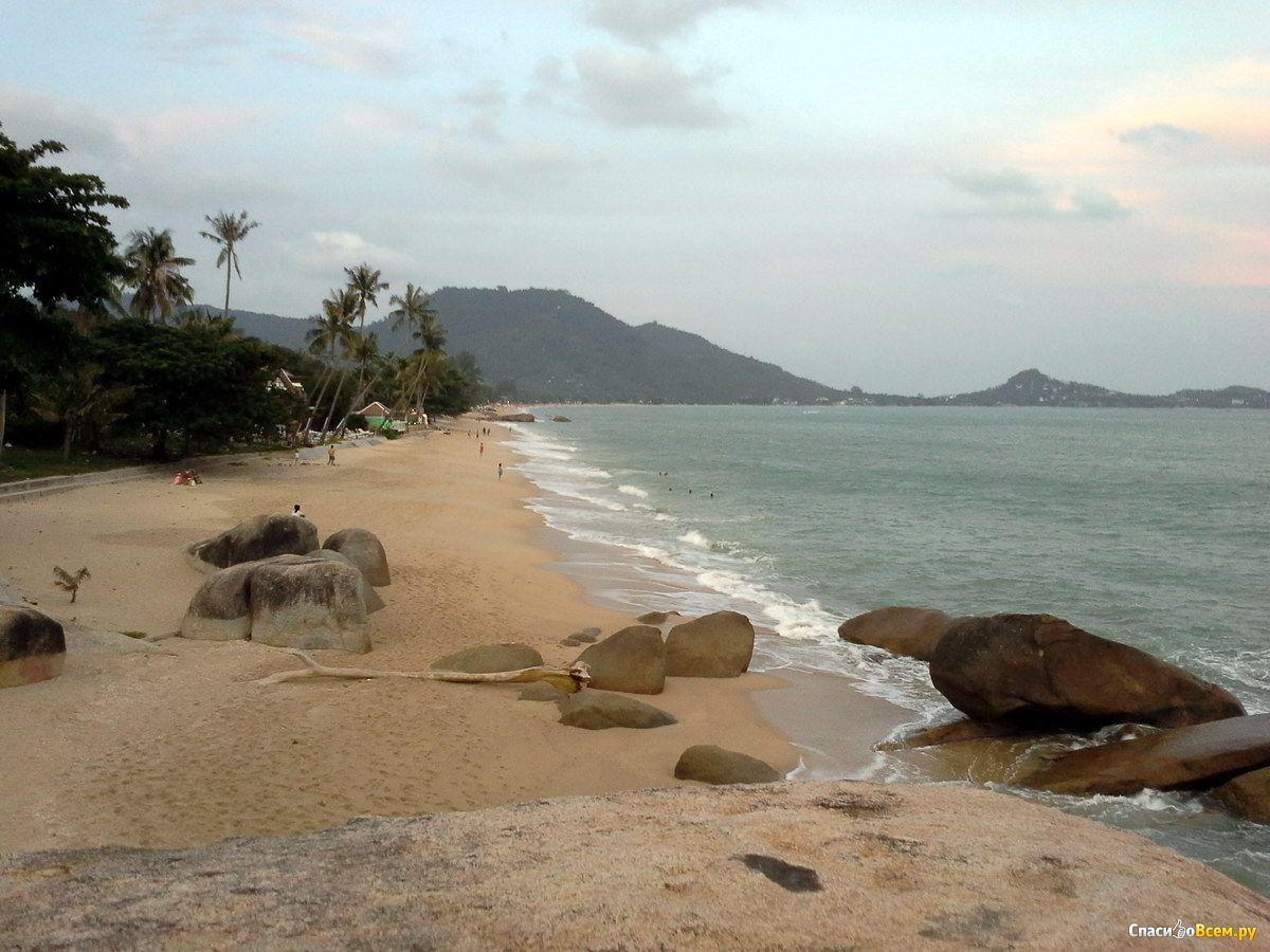 Тайланд самуи пляжи ламай фото