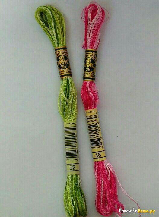 Виды ниток для вышивания Нandmade/Вышивка крестиком