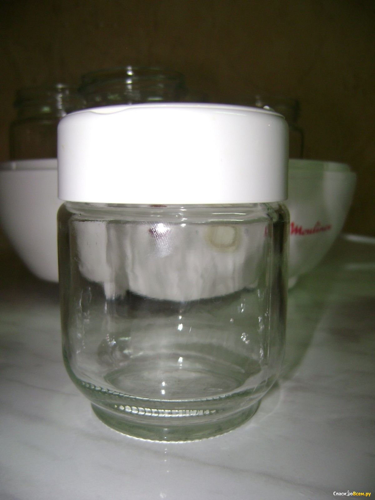 "Отзыв про Йогуртница Moulinex DJC 1: ""Вот какой йогурт у ...: http://spasibovsem.ru/responses/vot-kakoj-jogurt-u-nas-poluchaetsya.html"