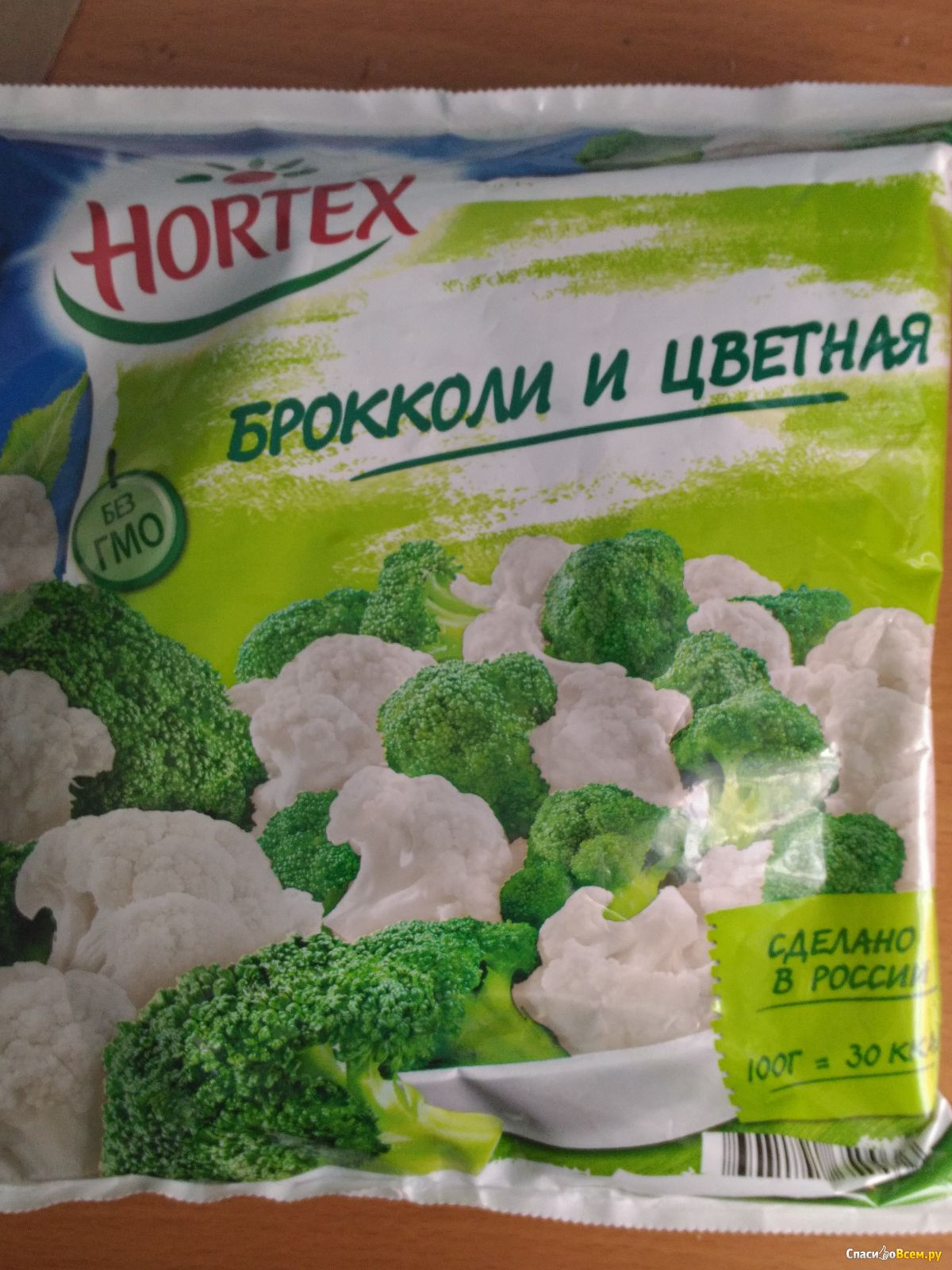 заморозка цветной капусты и брокколи