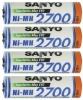 Аккумуляторы Sanyo AA 2700 mAh Ni-Mh