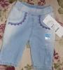 Бриджи детские джинсовые для девочек Gloria Jeans арт.60535