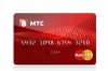 Дебетовая карта МТС Деньги MasterCard