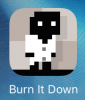 "Игра ""Burn it down"" для iPad"
