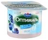 Йогурт Савушкин «Оптималь» Черника 0 %