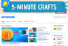 Канал на Youtube 5-Minute Crafts