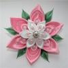 """Создание цветов из кусочков материи """"Канзаши"""""""